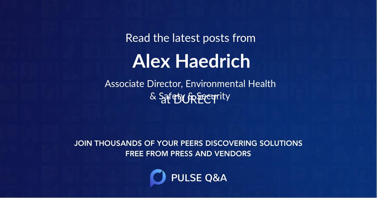 Alex Haedrich