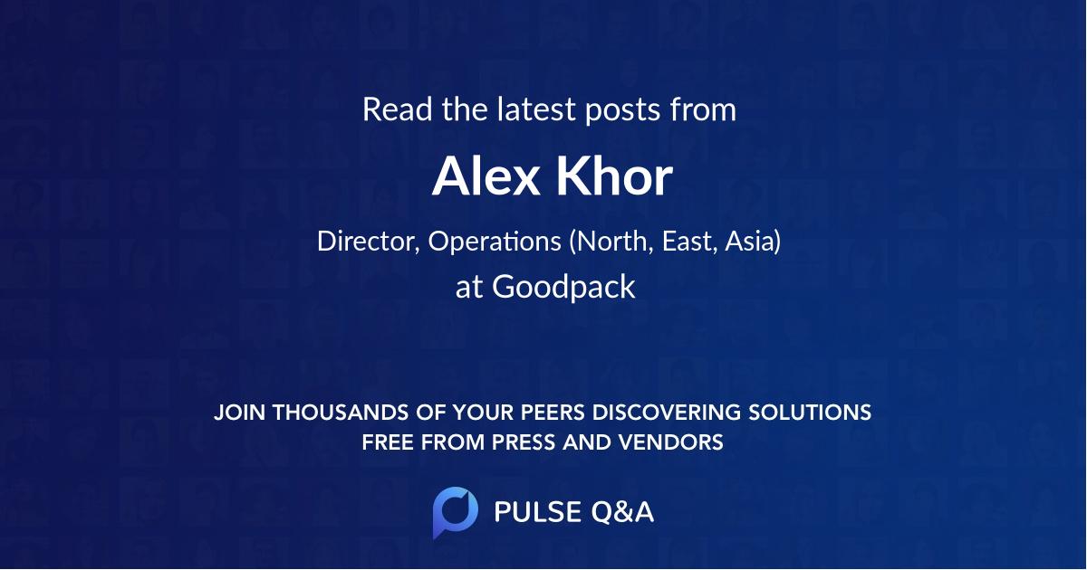 Alex Khor