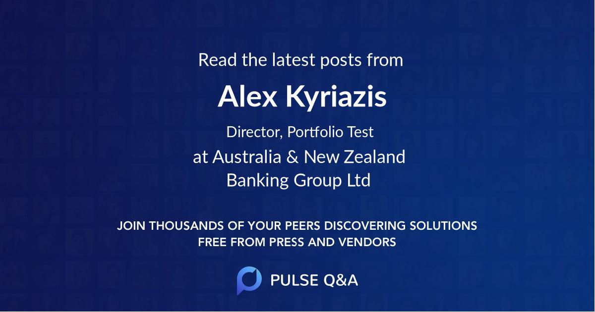 Alex Kyriazis