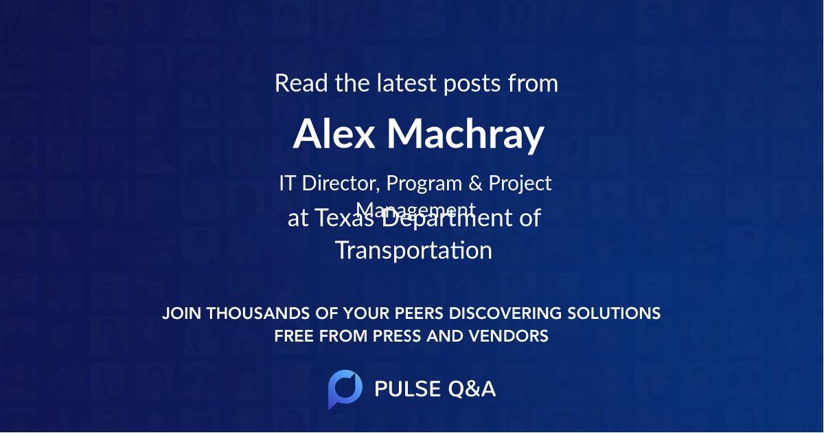 Alex Machray