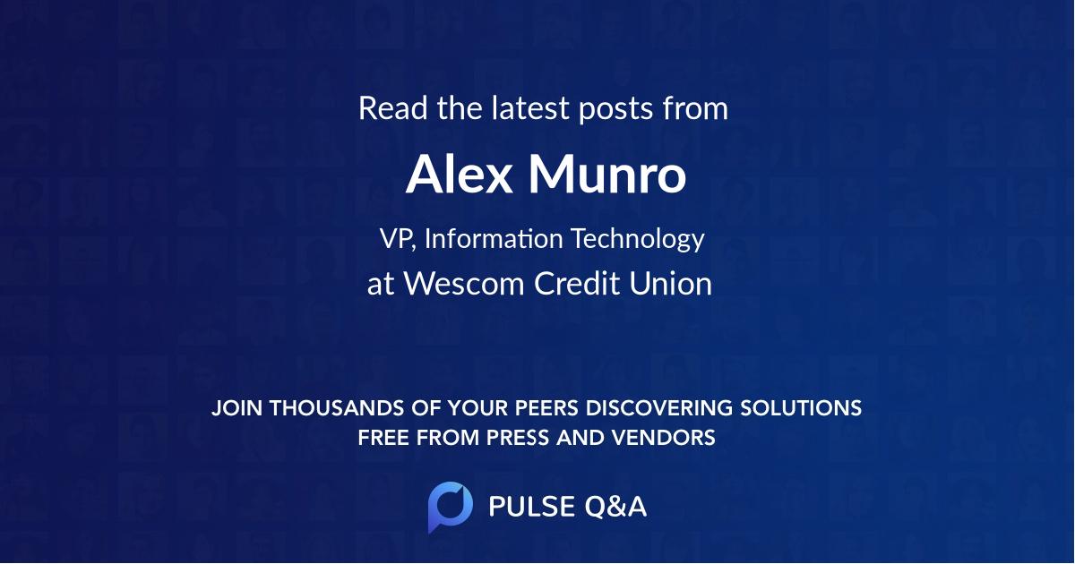 Alex Munro