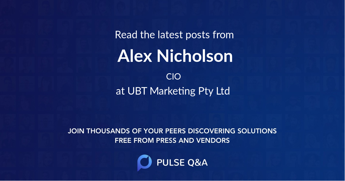 Alex Nicholson