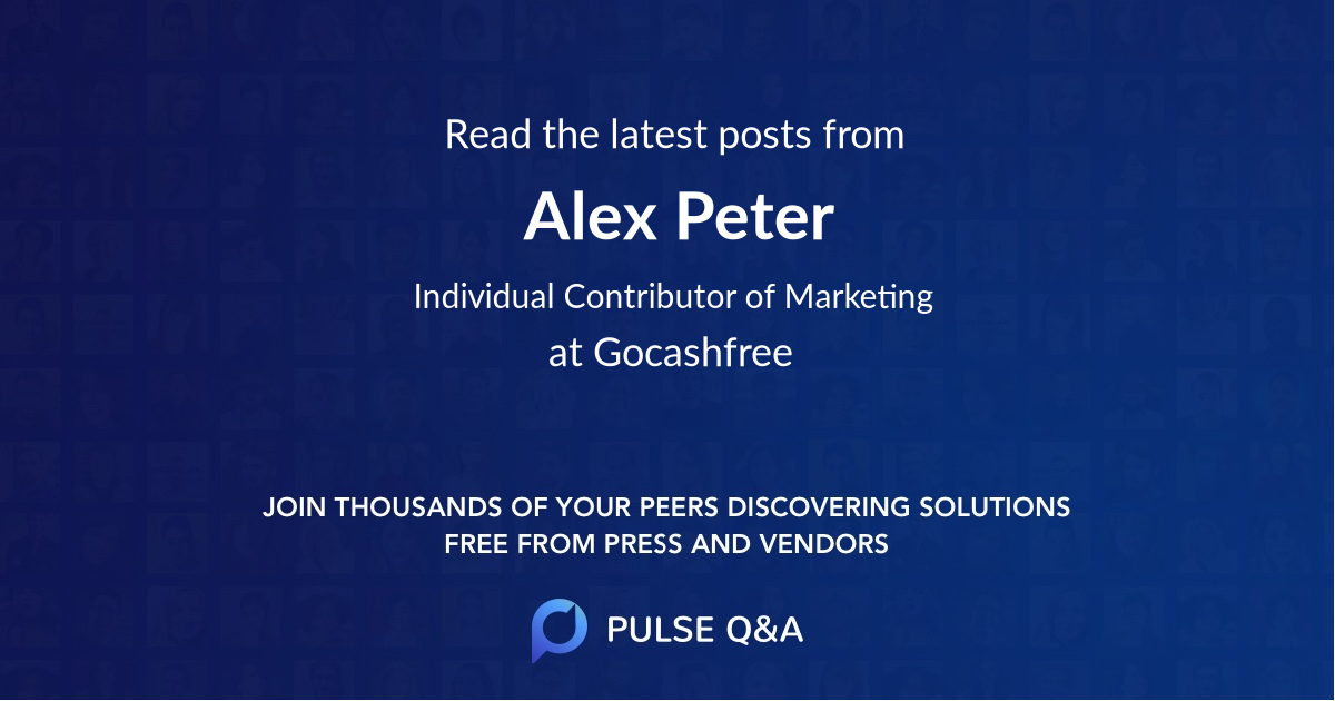 Alex Peter