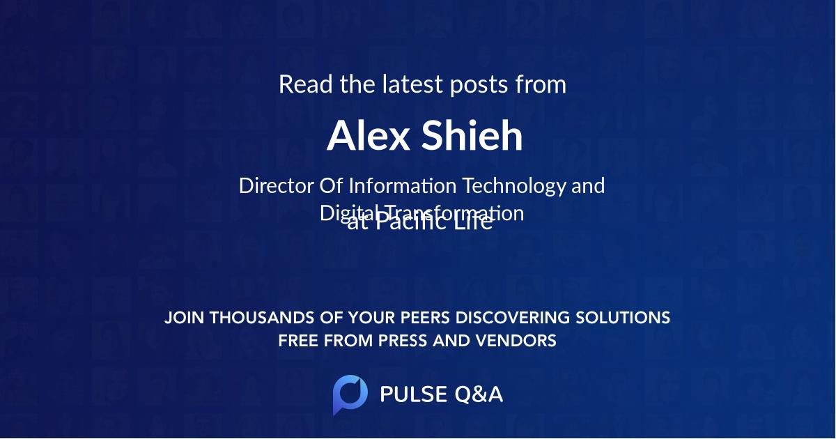 Alex Shieh