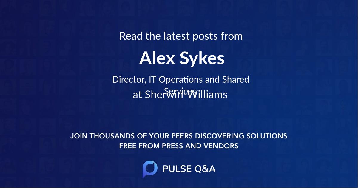 Alex Sykes