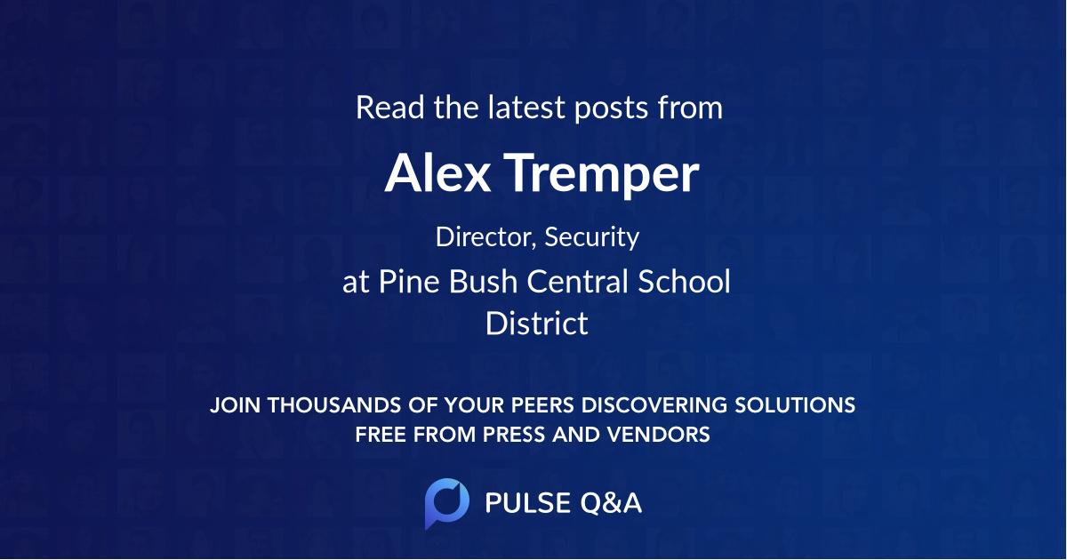 Alex Tremper