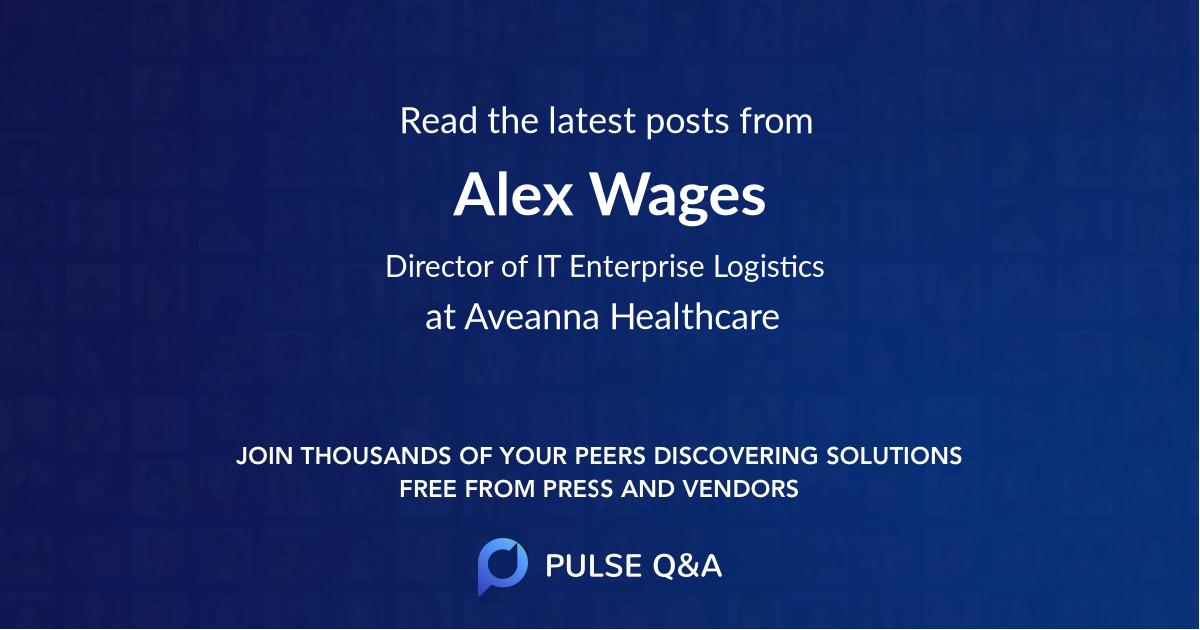 Alex Wages
