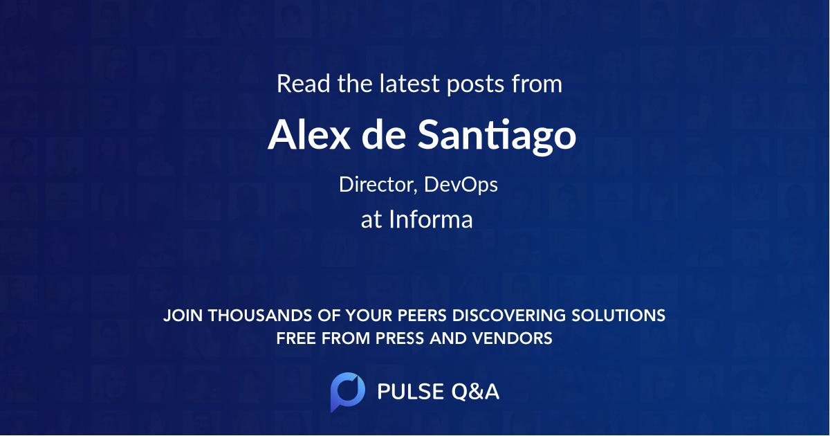 Alex de Santiago