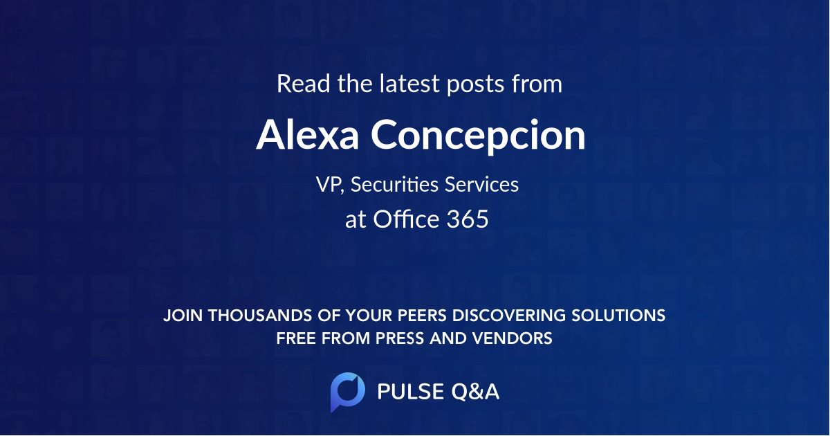Alexa Concepcion