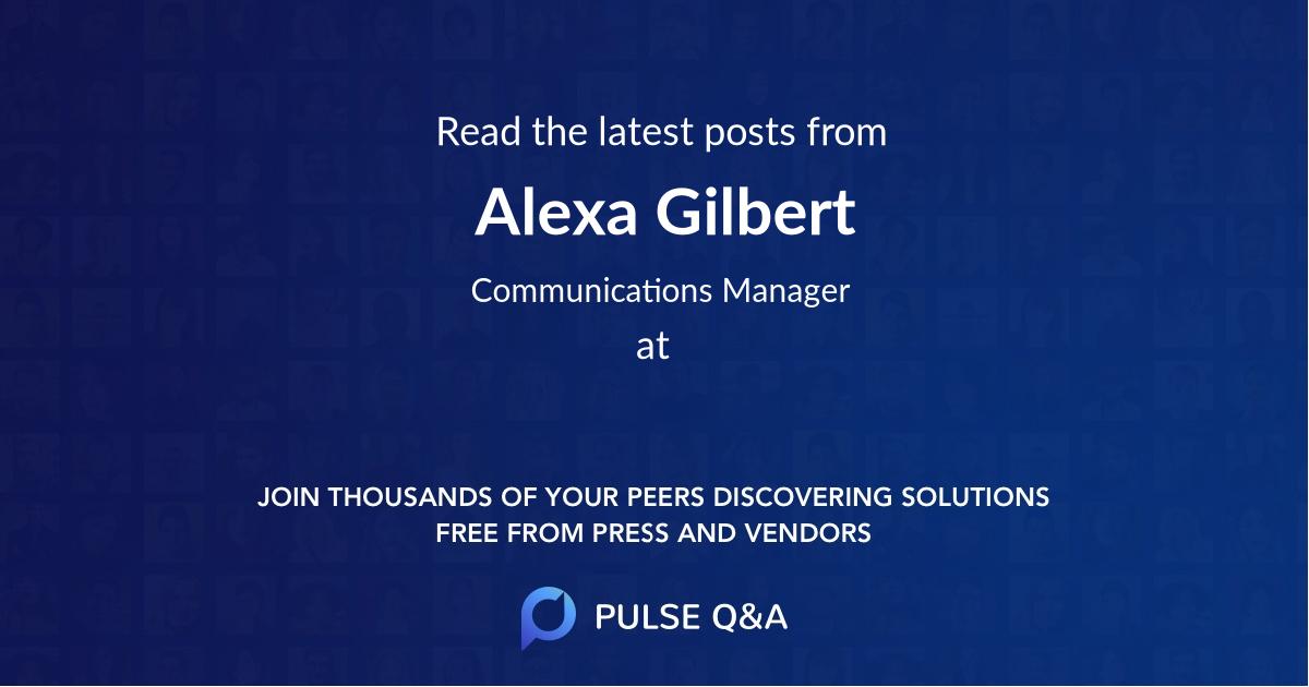 Alexa Gilbert