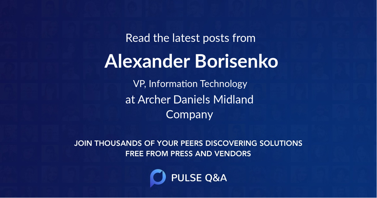 Alexander Borisenko