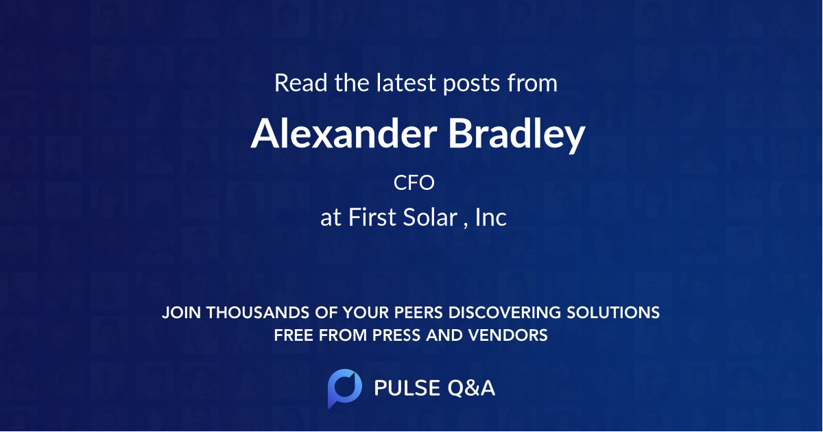 Alexander Bradley