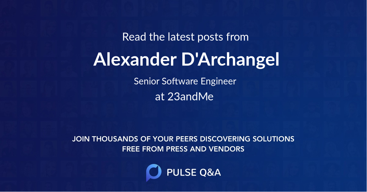 Alexander D'Archangel
