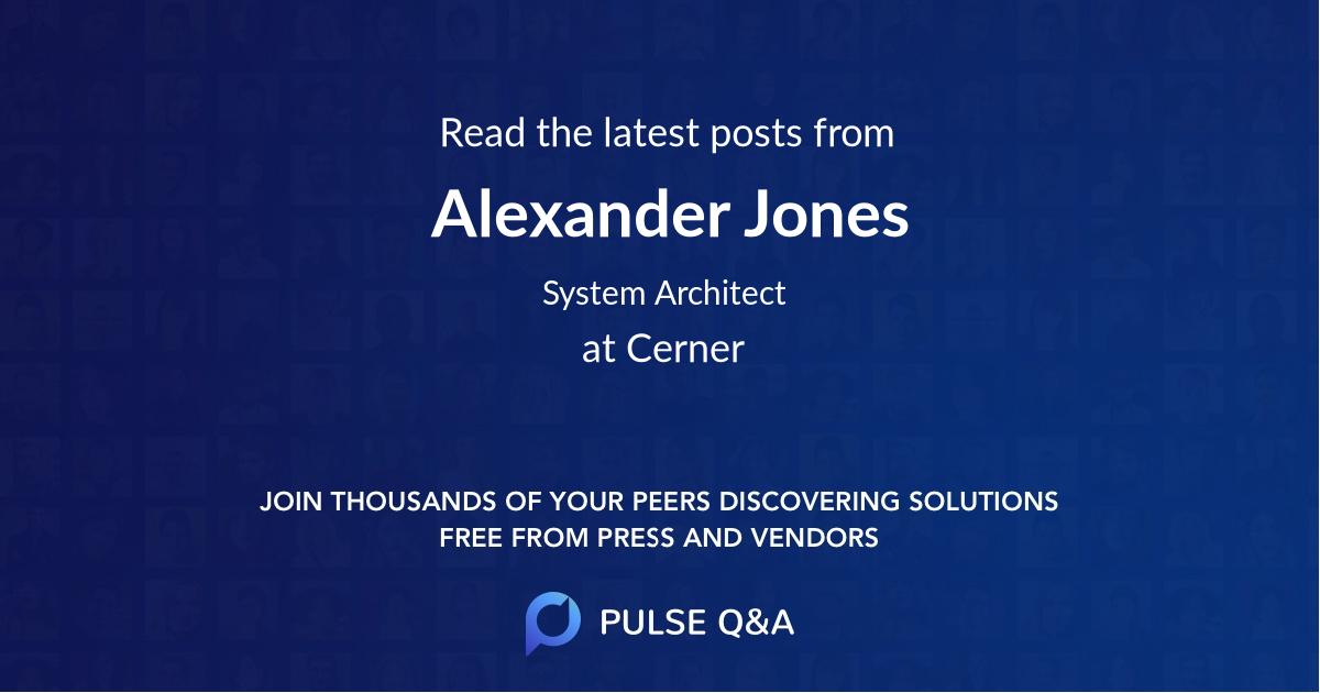 Alexander Jones