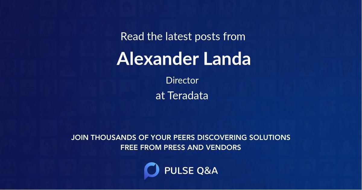 Alexander Landa