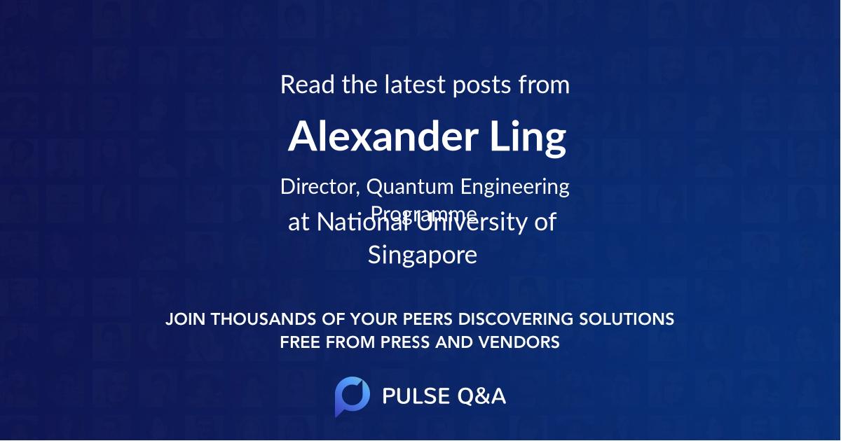 Alexander Ling