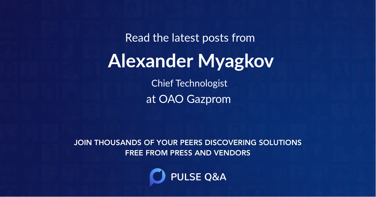 Alexander Myagkov
