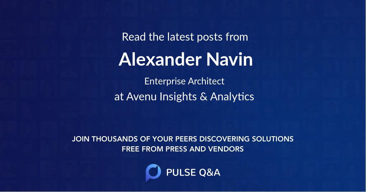 Alexander Navin