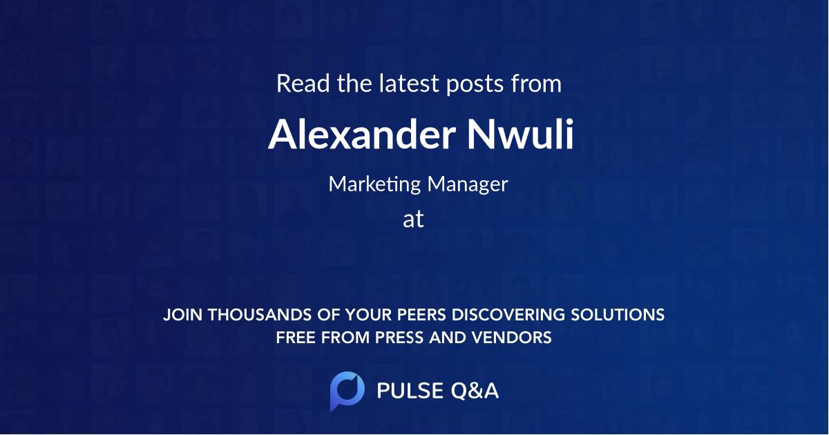 Alexander Nwuli