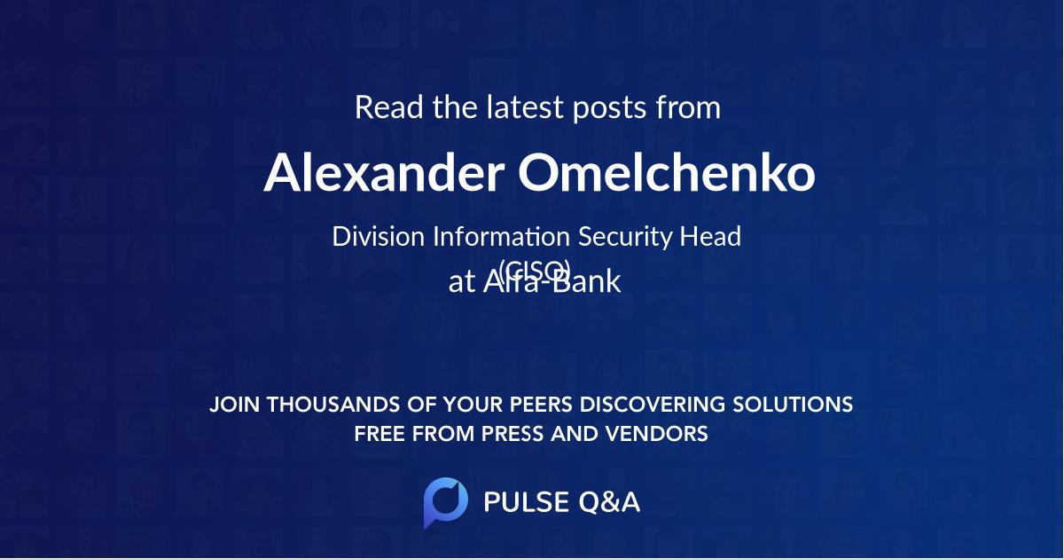 Alexander Omelchenko