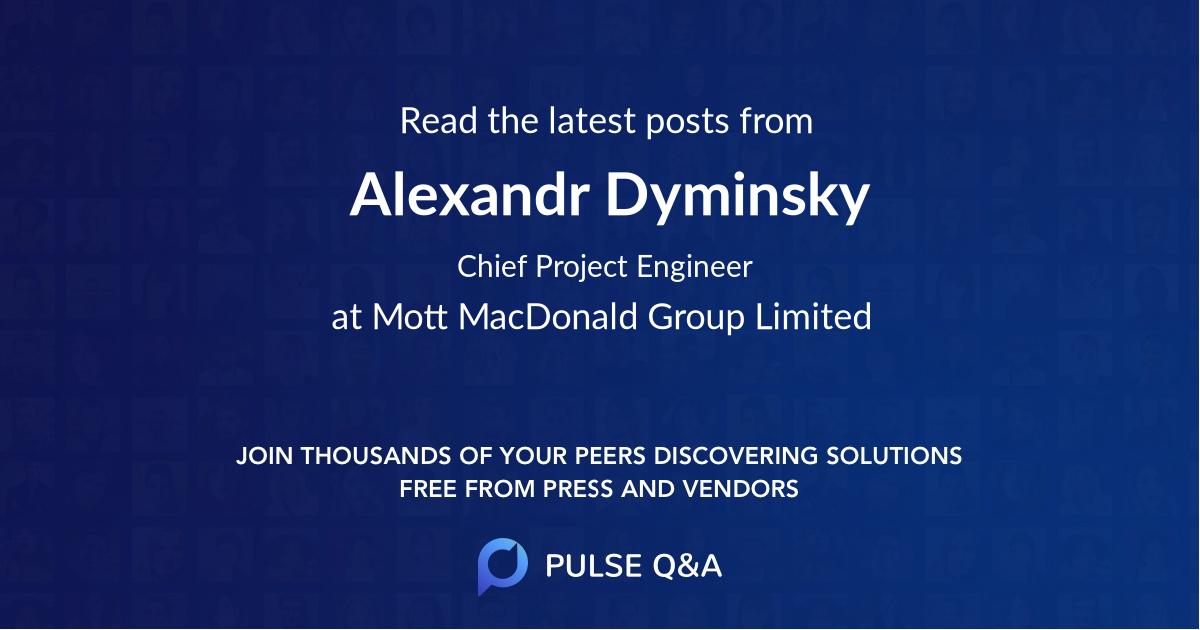 Alexandr Dyminsky