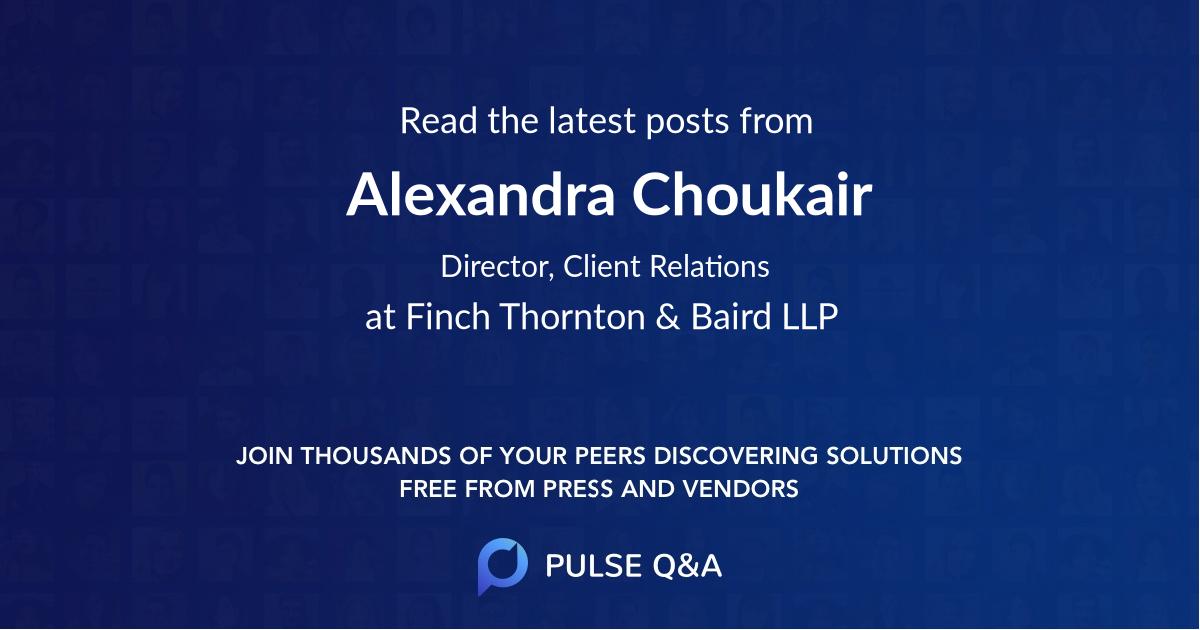 Alexandra Choukair