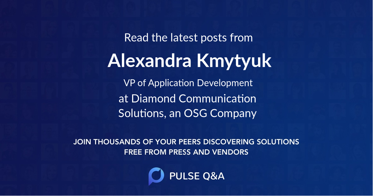 Alexandra Kmytyuk