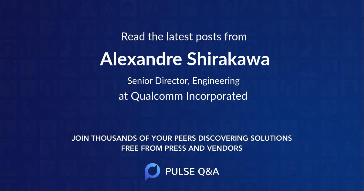 Alexandre Shirakawa