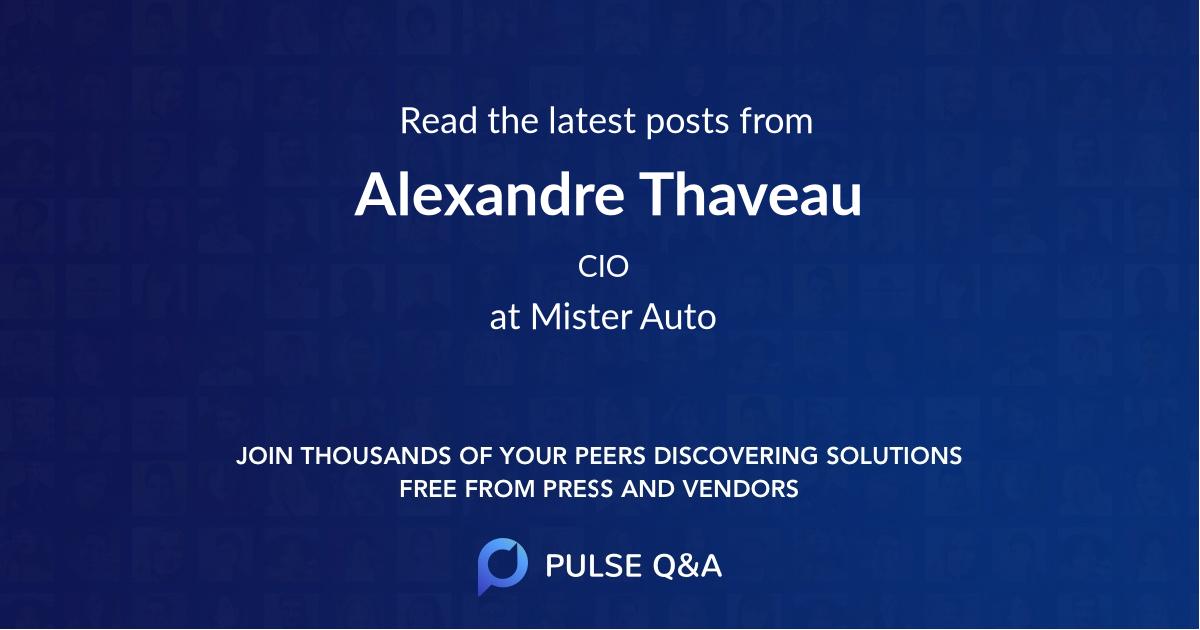 Alexandre Thaveau