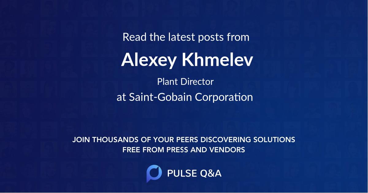 Alexey Khmelev