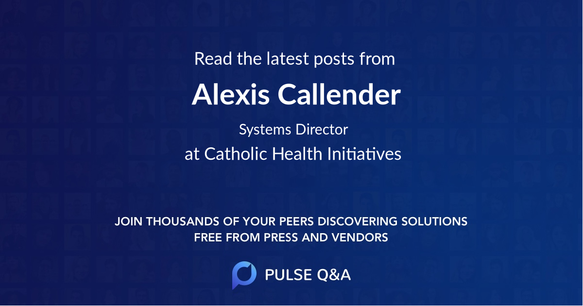 Alexis Callender