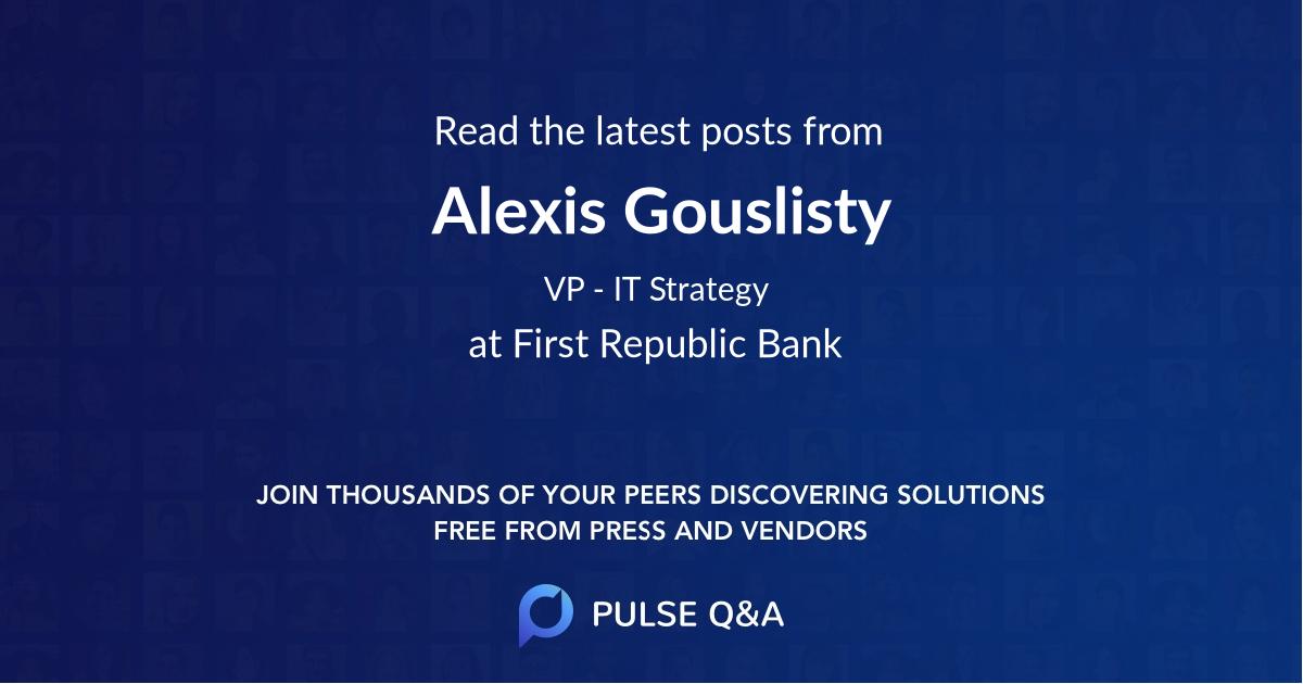 Alexis Gouslisty