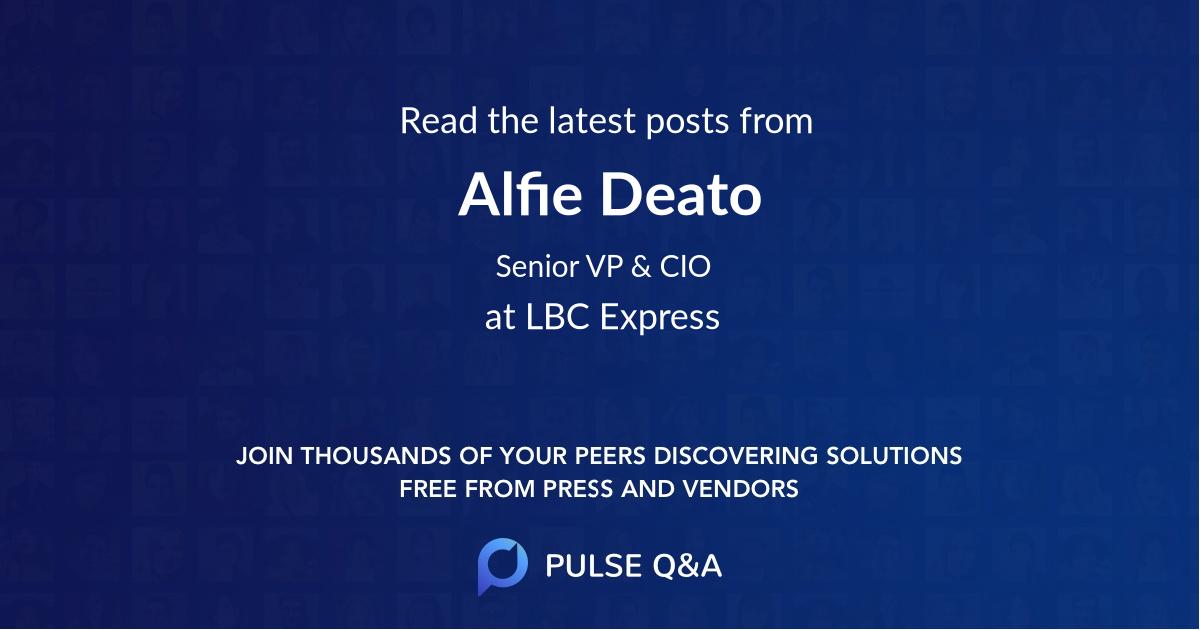 Alfie Deato