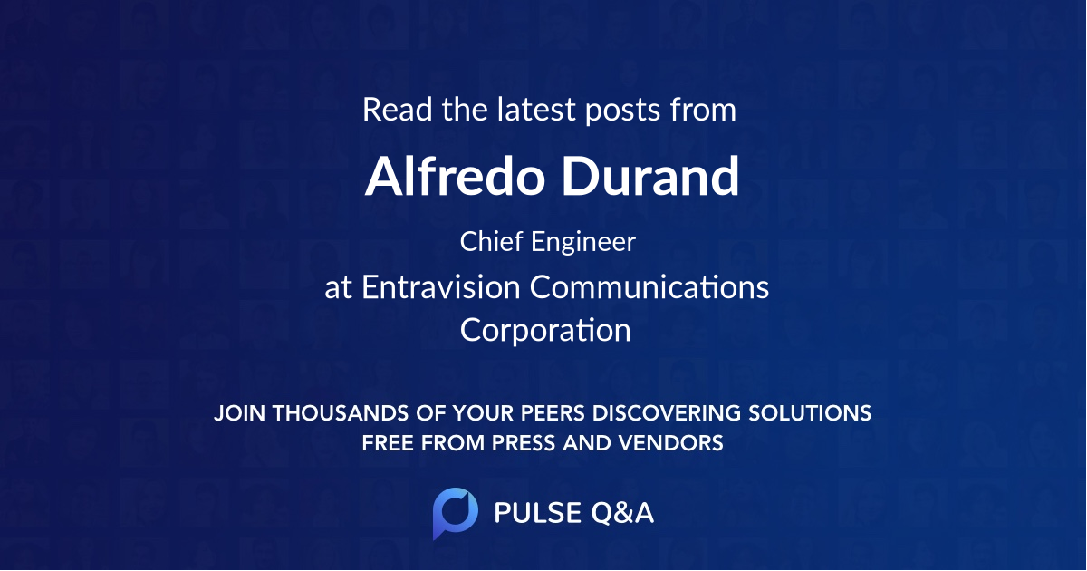Alfredo Durand