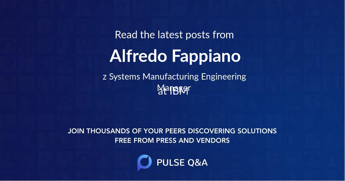 Alfredo Fappiano