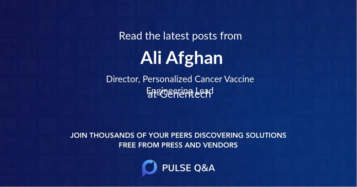 Ali Afghan