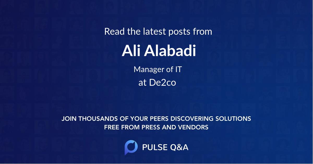 Ali Alabadi