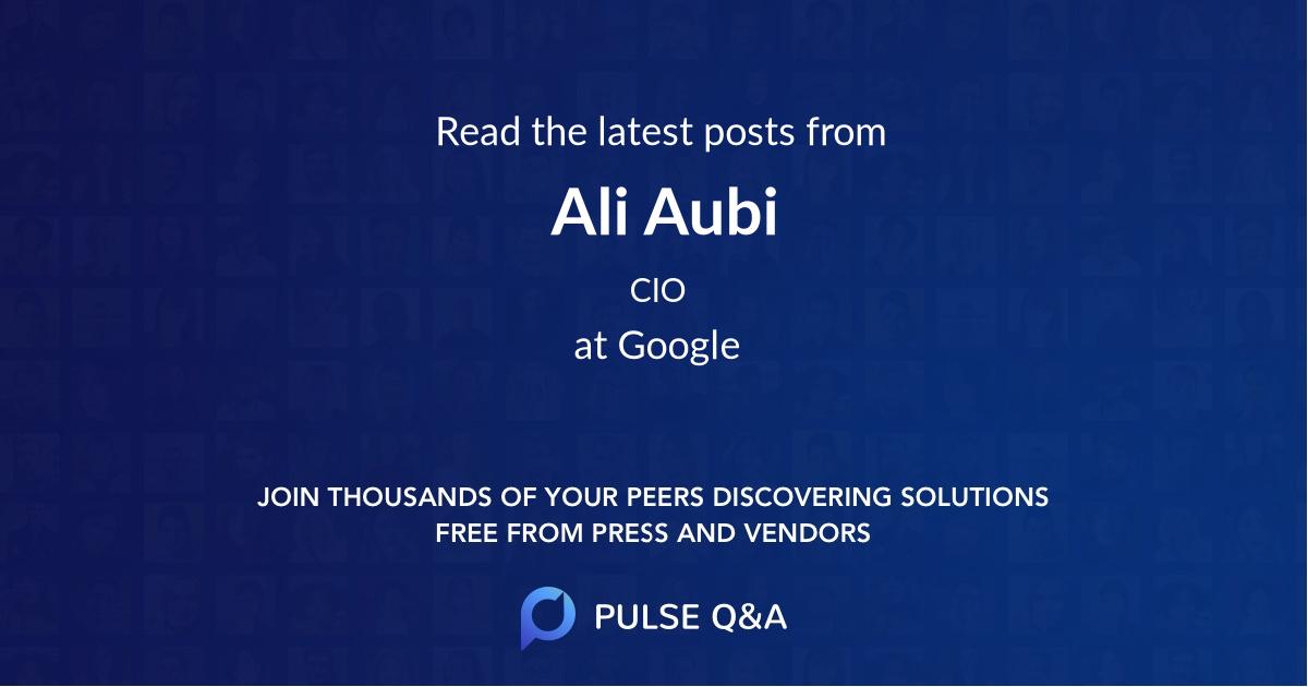 Ali Aubi