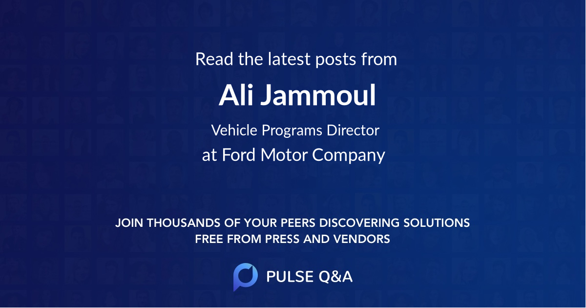 Ali Jammoul