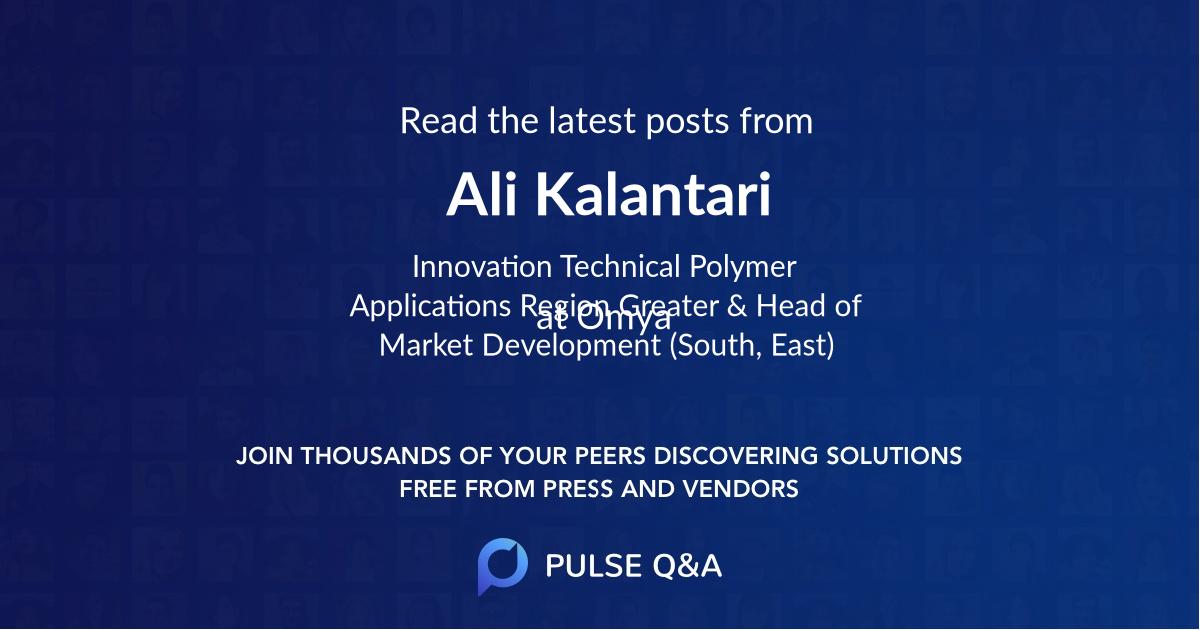 Ali Kalantari