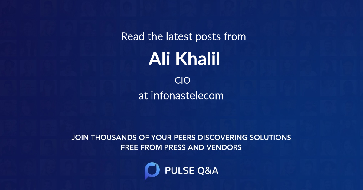 Ali Khalil
