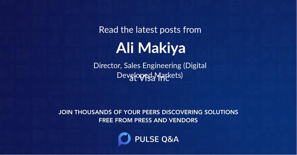 Ali Makiya