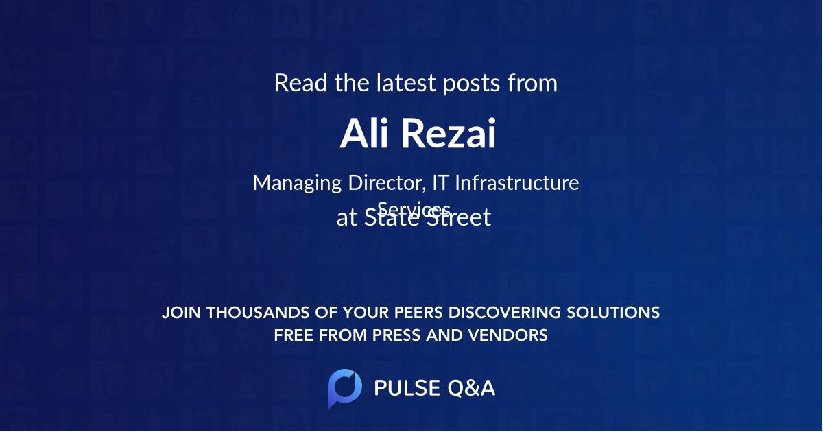 Ali Rezai