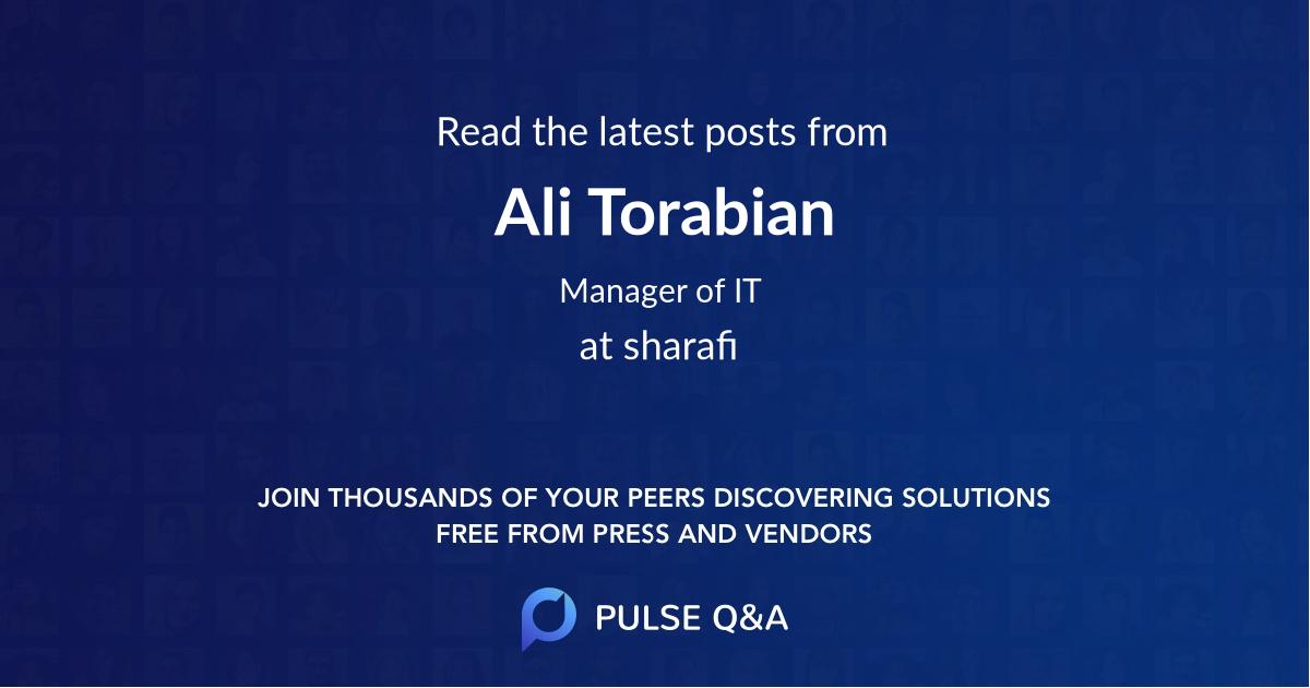 Ali Torabian