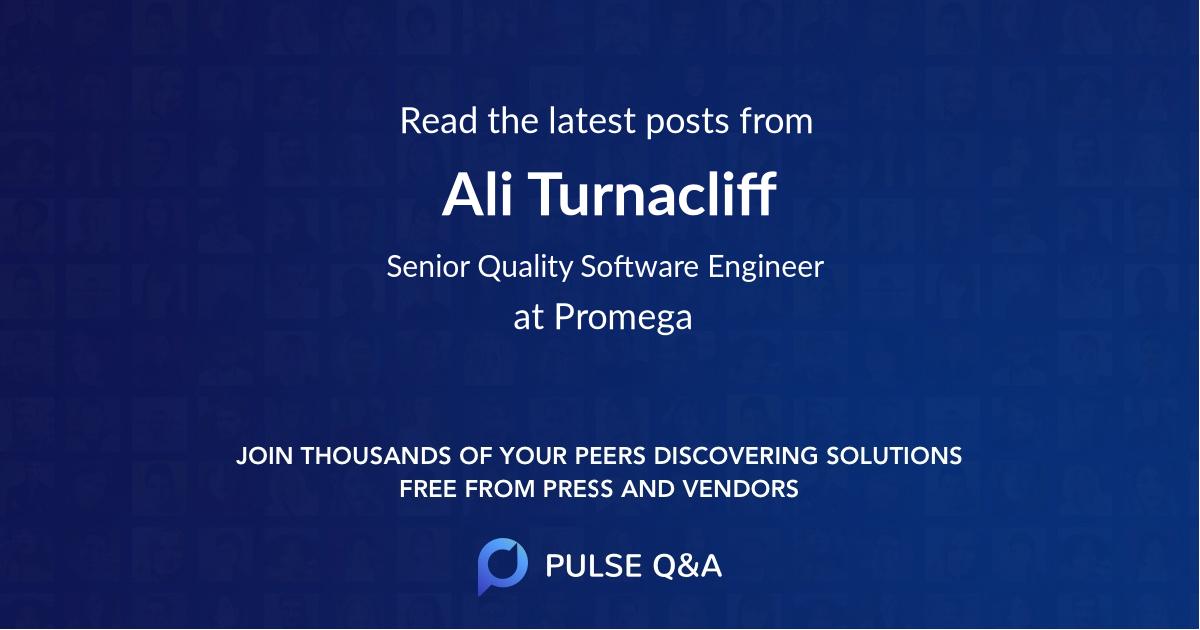Ali Turnacliff