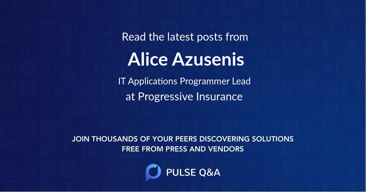 Alice Azusenis