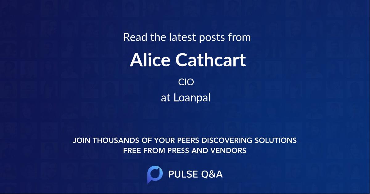 Alice Cathcart