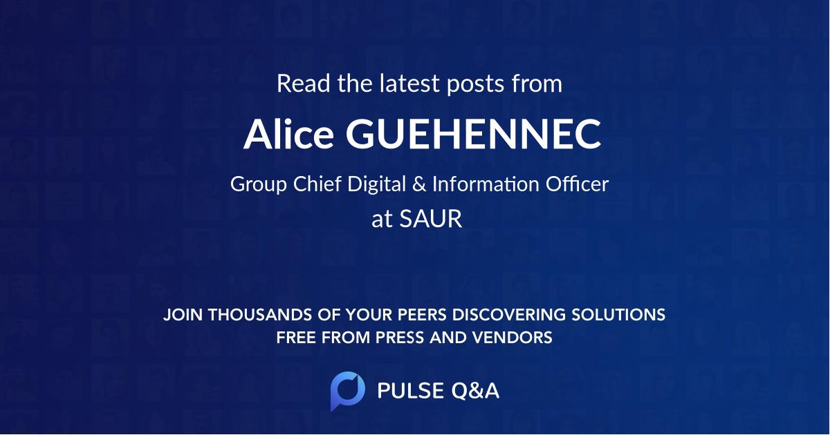 Alice GUEHENNEC