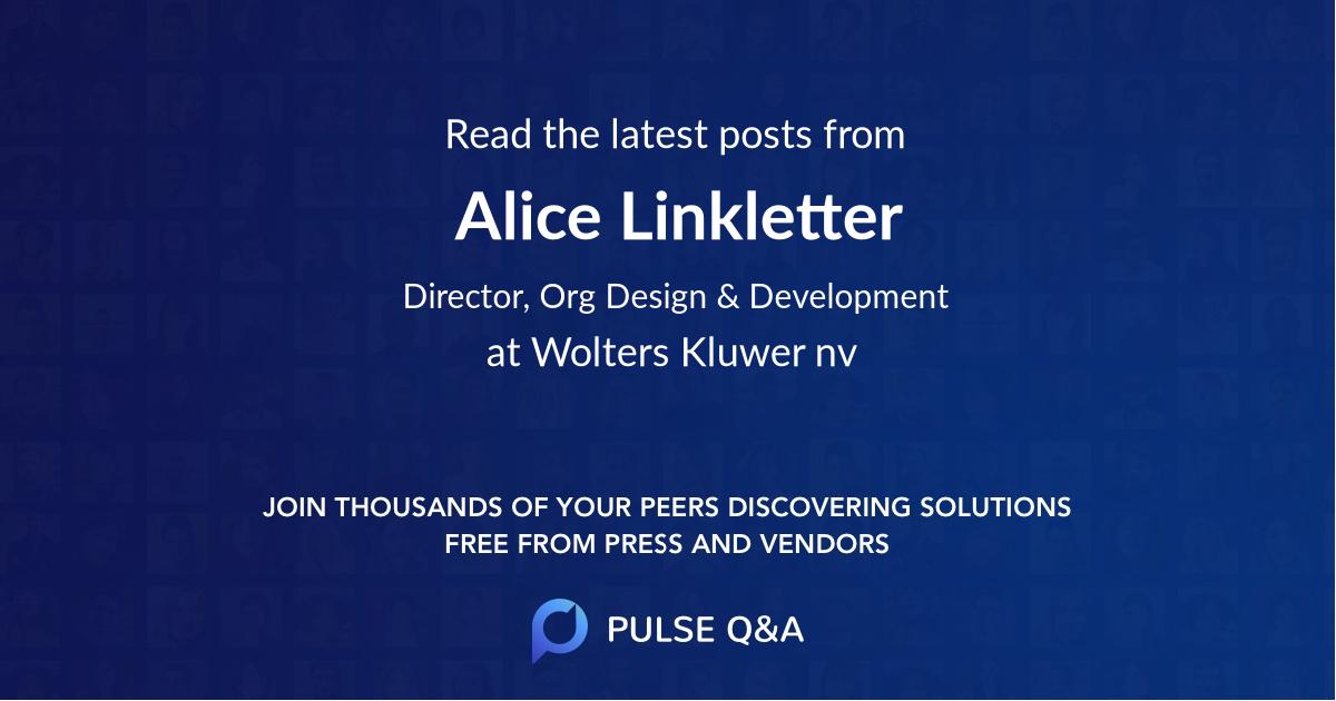 Alice Linkletter