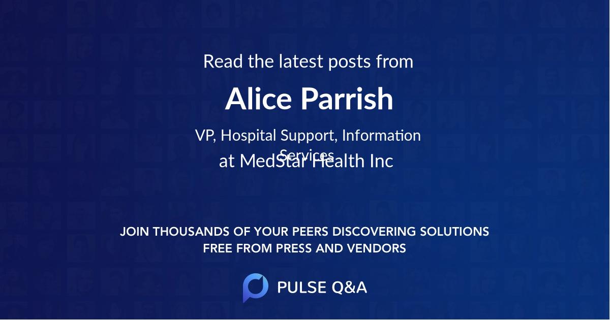 Alice Parrish